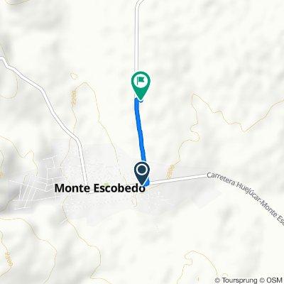 De Calle Heroico Colegio Militar, Monte Escobedo a Calle Del Panteón 36, Monte Escobedo