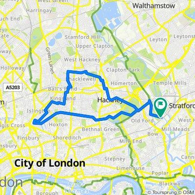 SRL_Hackney / Regents Canal Loop (Olympic loop)