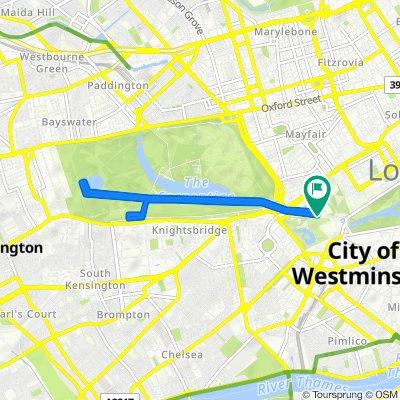 Westminster - Central London Four Parks