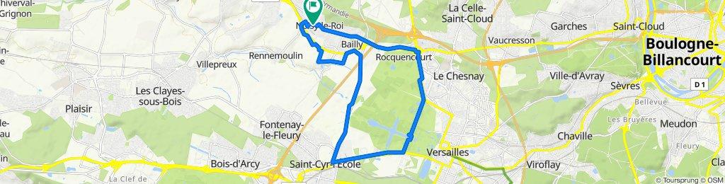 De 8 Chemin des Noyers, Noisy-le-Roi à 8 Chemin des Noyers, Noisy-le-Roi