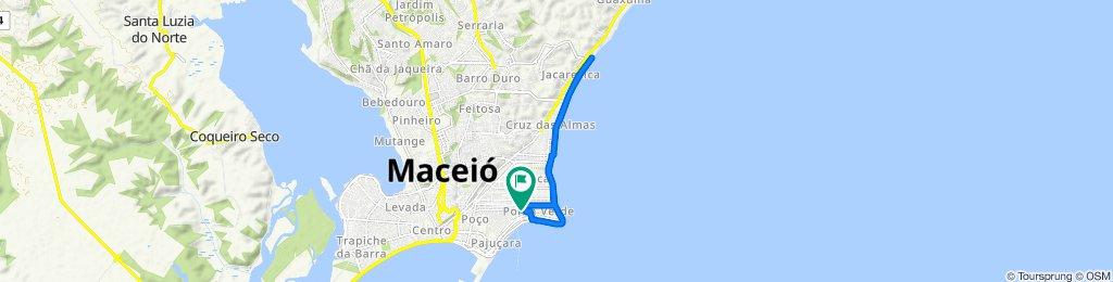 De Avenida Doutor José Sampaio Luz, 266, Maceió a Avenida Doutor José Sampaio Luz, 236, Maceió