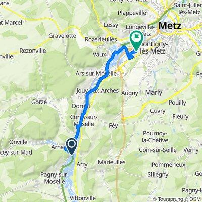 Itinéraire vers 30 Rue de Bretagne, Moulins-lès-Metz