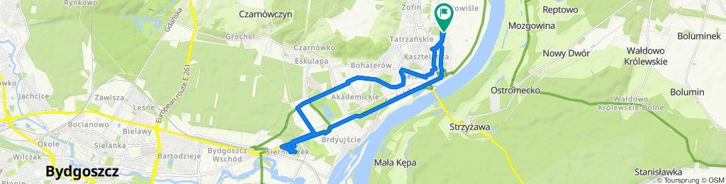 Franciszka Kiedrowskiego, Bydgoszcz do Generała Tadeusza Bora-Komorowskiego 6, Bydgoszcz