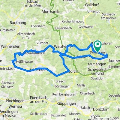 102km-Welze-Remstal