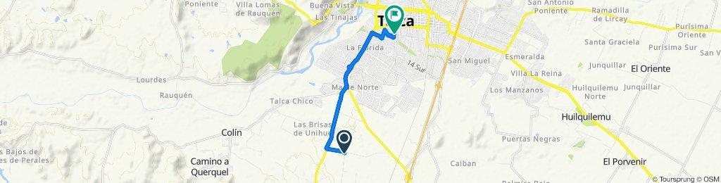 De Camino Barros Negros, Maule a Cinco Sur 732, Talca