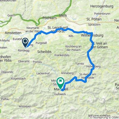 Dorffeld 14, Perwarth nach Grazer Straße 26, Mariazell