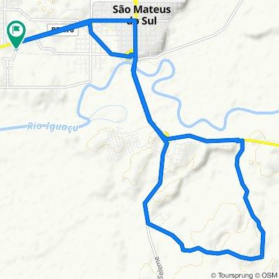 De Rua Medianeira, 28–268, São Mateus do Sul a Rua Medianeira, 28–268, São Mateus do Sul