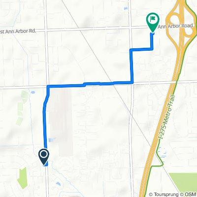 7788–7898 Balmoral Dr, Canton to 40475 Ann Arbor Rd E, Plymouth