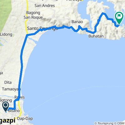 Unnamed Road, Legazpi City to Sula Bridge, Bacacay