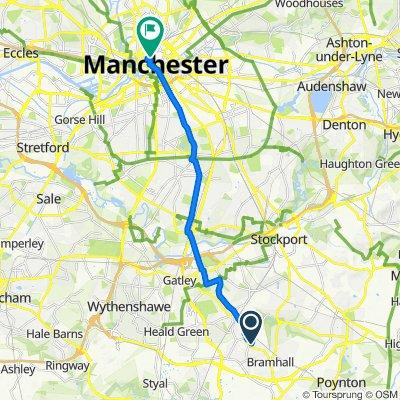 70 Glandon Drive, Cheadle to College Land, Manchester