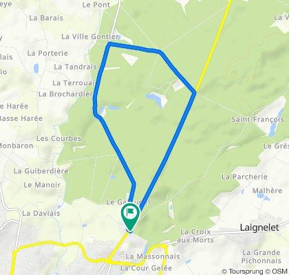 De Avenue de la Verrerie 148, Fougères à Avenue de la Verrerie 150, Fougères