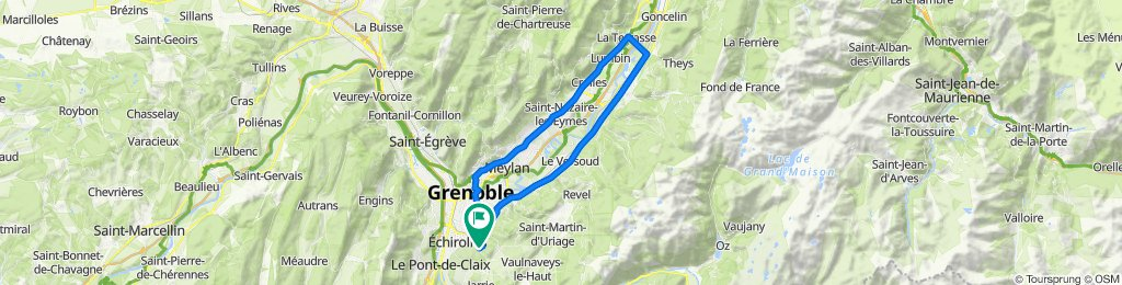 De Rue de la République, Bresson à 12 Le Clos du Château, Bresson