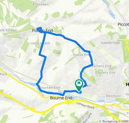 21 Sundew Road, Hemel Hempstead to 16 Sundew Road, Hemel Hempstead