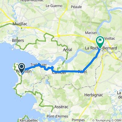 De Allée des Sports, Pénestin à 8 Quai Saint-Antoine, La Roche-Bernard