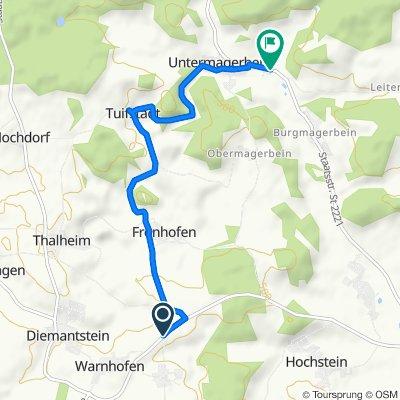 Kömertshof, Bissingen nach St2221, Mönchsdeggingen