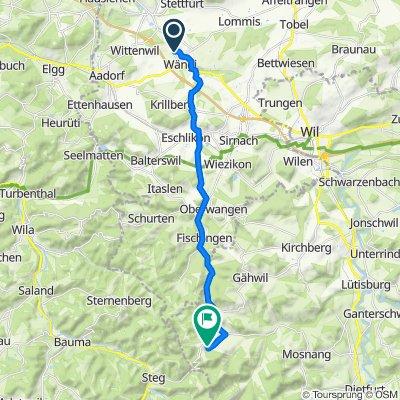 Wiesengrundstrasse 33a, Wängi nach Hulftegg 907, Mosnang
