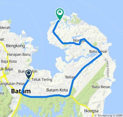 Jalur Sepeda Kota Batam