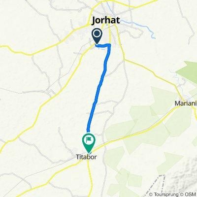 Jail Road, Jorhat to Bebejia Gaon