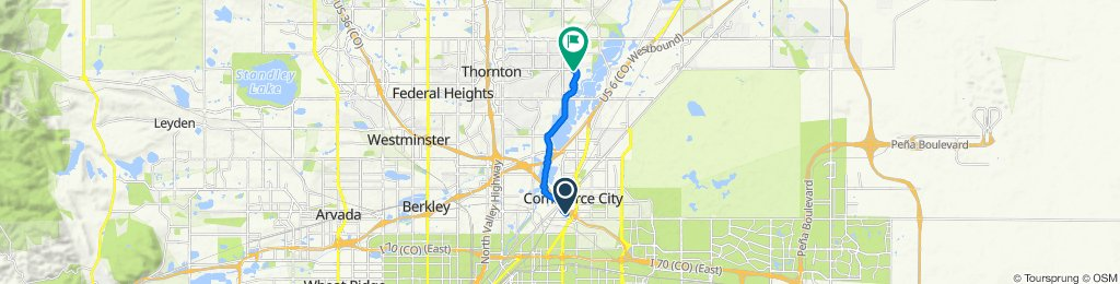 Sand Creek Regional Greenway, Commerce City to East 95th Drive 4697, Thornton