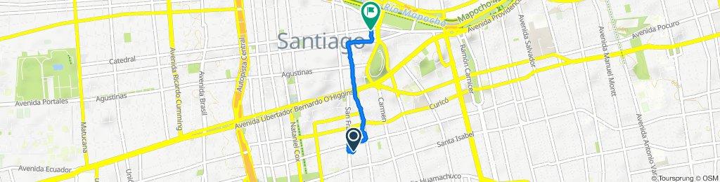 De San Francisco 364, Santiago a Mosqueto 1–695, Santiago
