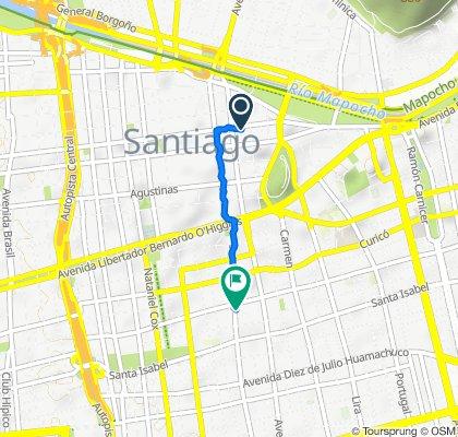 De Ayacucho 489, Santiago a San Francisco 326, Santiago