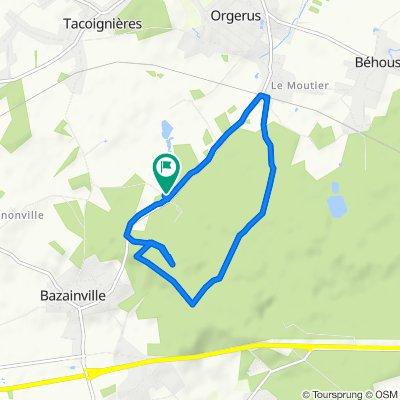 De 4 Route de la Sablière, Bazainville à 4 Route de la Sablière, Bazainville