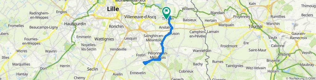 De 7 Rue Albert Carette, Tressin à 7 Rue Albert Carette, Tressin