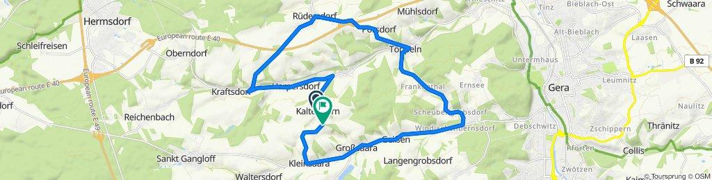 Neues Ausflugsziel...Käseberg erfolgreich bezwungen....Proost ;)