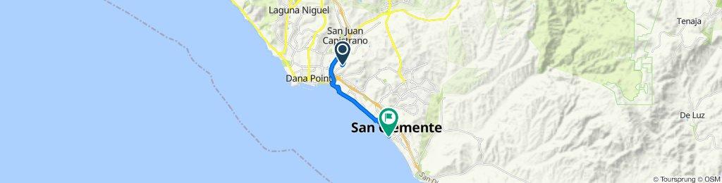 33395 Paseo el Lazo, San Juan Capistrano to 611 Avenida Victoria, San Clemente