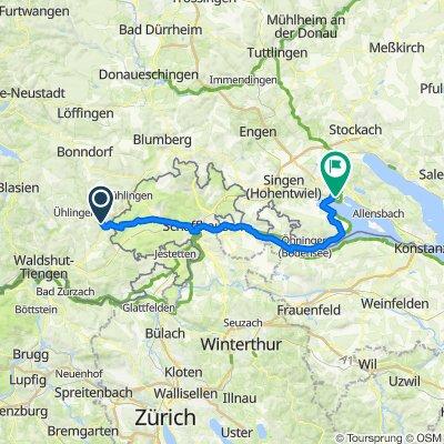 Eggingen, Stein am Rhein und  Radolfzell