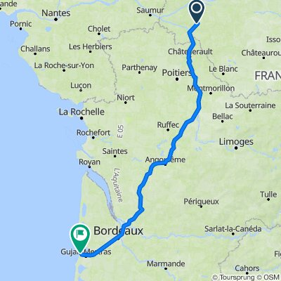 De 10 Impasse du Pré Haut, Sainte-Catherine-de-Fierbois à 14 Boulevard du Général Leclerc, Arcachon