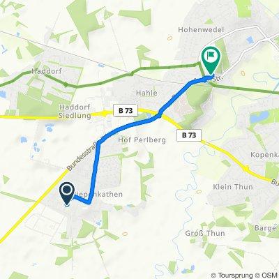 Rudolf-Kinau-Weg 14, Stade nach Bremervörder Straße 74, Stade