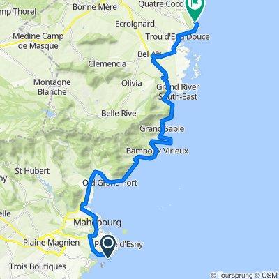 Blue Bay to Quatre Cocos