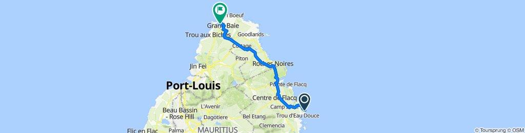 Quatre Cocos to La Cuvette