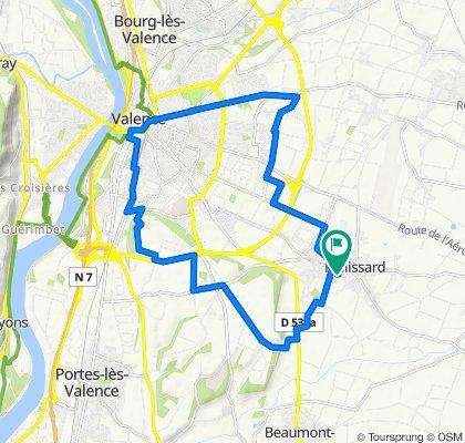 De 2 Allée du Champ de la Lyre, Malissard à 4 Allée du Champ de la Lyre, Malissard