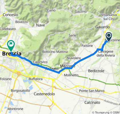 Da Via Longavina 8, Longavina a Contrada del Carmine 10/C, Brescia