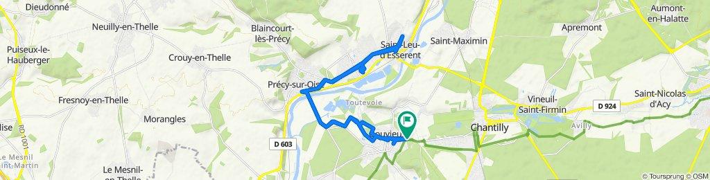 De Rue de Chantilly 29, Gouvieux à Rue de Chantilly 29, Gouvieux