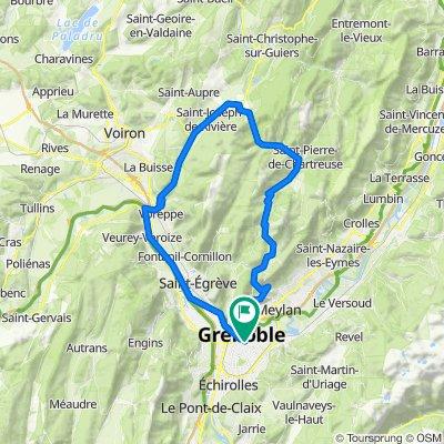 Grand tour Chartreuse depuis Grenoble