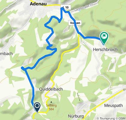 Nürburgring, Quiddelbach-Mühlenhardtstraße 24, Herschbroich