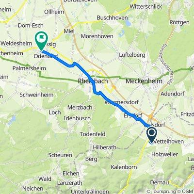 Max-Planck-Straße 16, Grafschaft nach Gewerbepark Odendorf 69 a, Swisttal