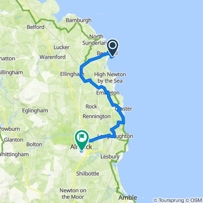 Beadnell to Gilly's