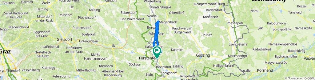 Blumengasse 31, Rudersdorf nach Blumengasse 38, Rudersdorf