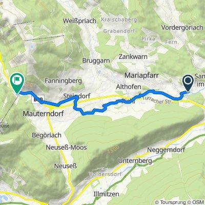 Route nach Markt 416, Mauterndorf