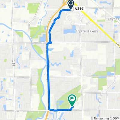 Mall Loop Drive 3401, Joliet to Joliet