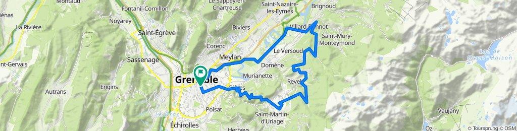 Tour Belledonne par Villard-Bonnot