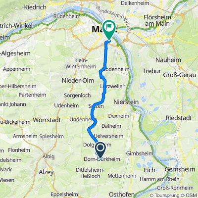 Rathausstraße 21, Dorn-Dürkheim nach Wilhelm-Theodor-Römheld-Straße 14–30, Mainz