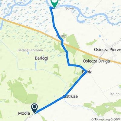 Zrelaksowana trasa w Rzgów