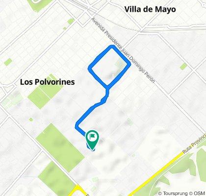 De Los Robles 1502–1700, Los Polvorines a Los Robles 1502–1700, Los Polvorines
