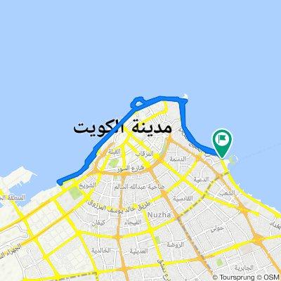 Arabian Gulf Street, Kuwait City to Arabian Gulf Street, Kuwait City
