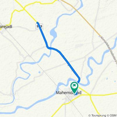 Court, Mahemdavad to Unnamed Road, Mahemdavad